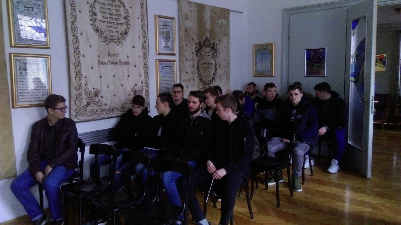 posjet grkokatoličkoj crkvi i sinagogi - 17