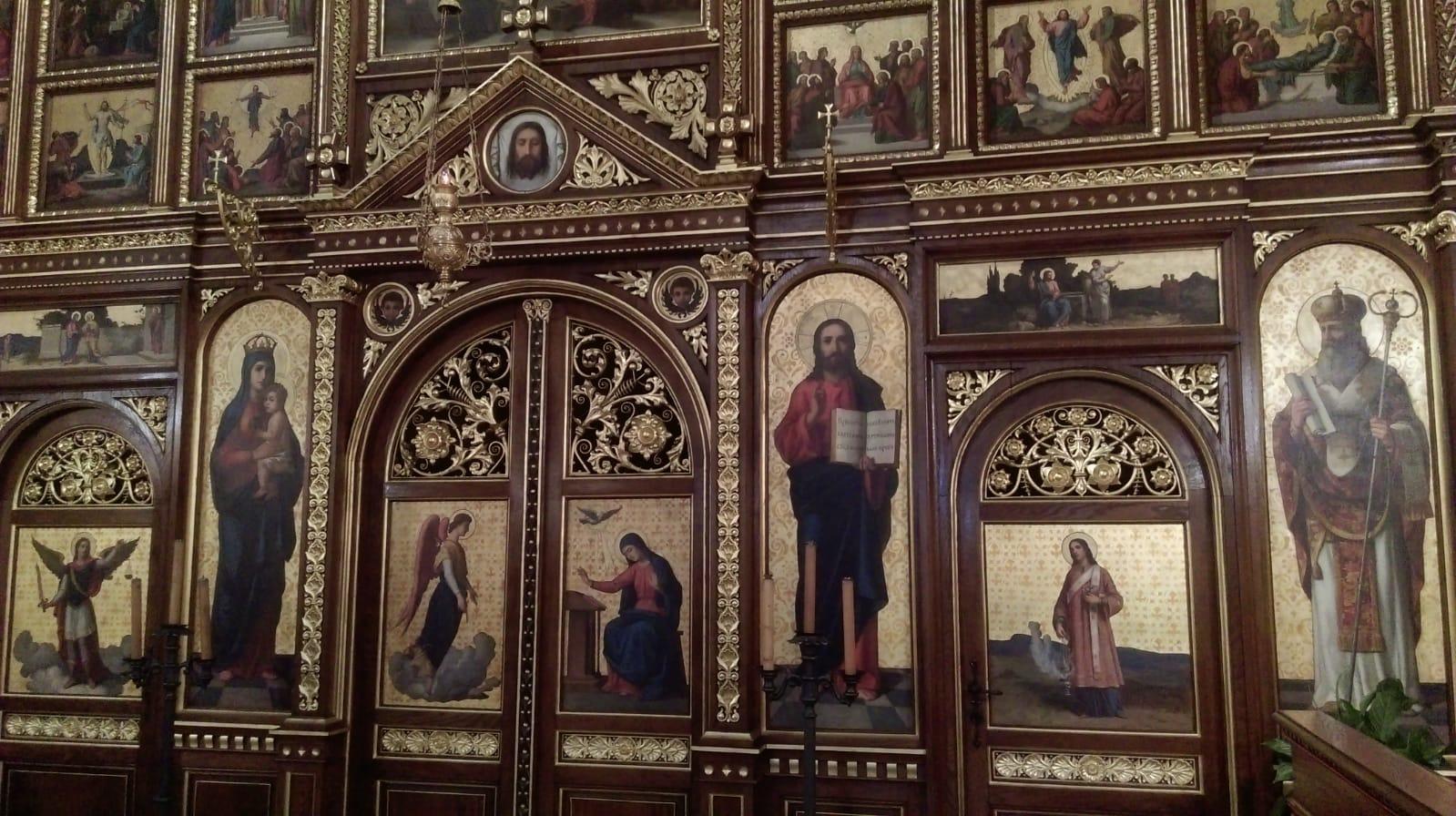 posjet grkokatoličkoj crkvi i sinagogi - oltar
